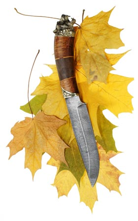 Knife/Leaves